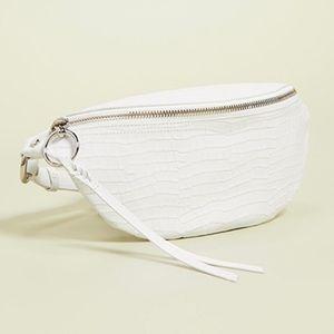 Rebecca Minkoff Bree Belt Bag - Optic White